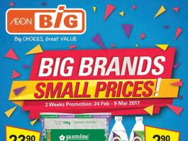 Aeon Big Promotion 2017