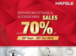 Häfele bathroom sale