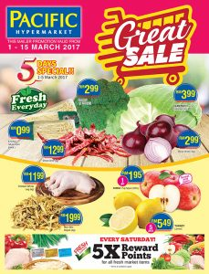 Pacific Hypermarket Promotion 2017