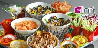 Restaurant Nook buffet lunch promotion at Aloft KL Sentral