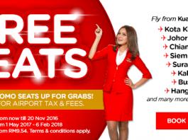 AirAsia Free Seats Promo