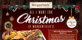Christmas Promotion 2016 @ Morganfield's Malaysia