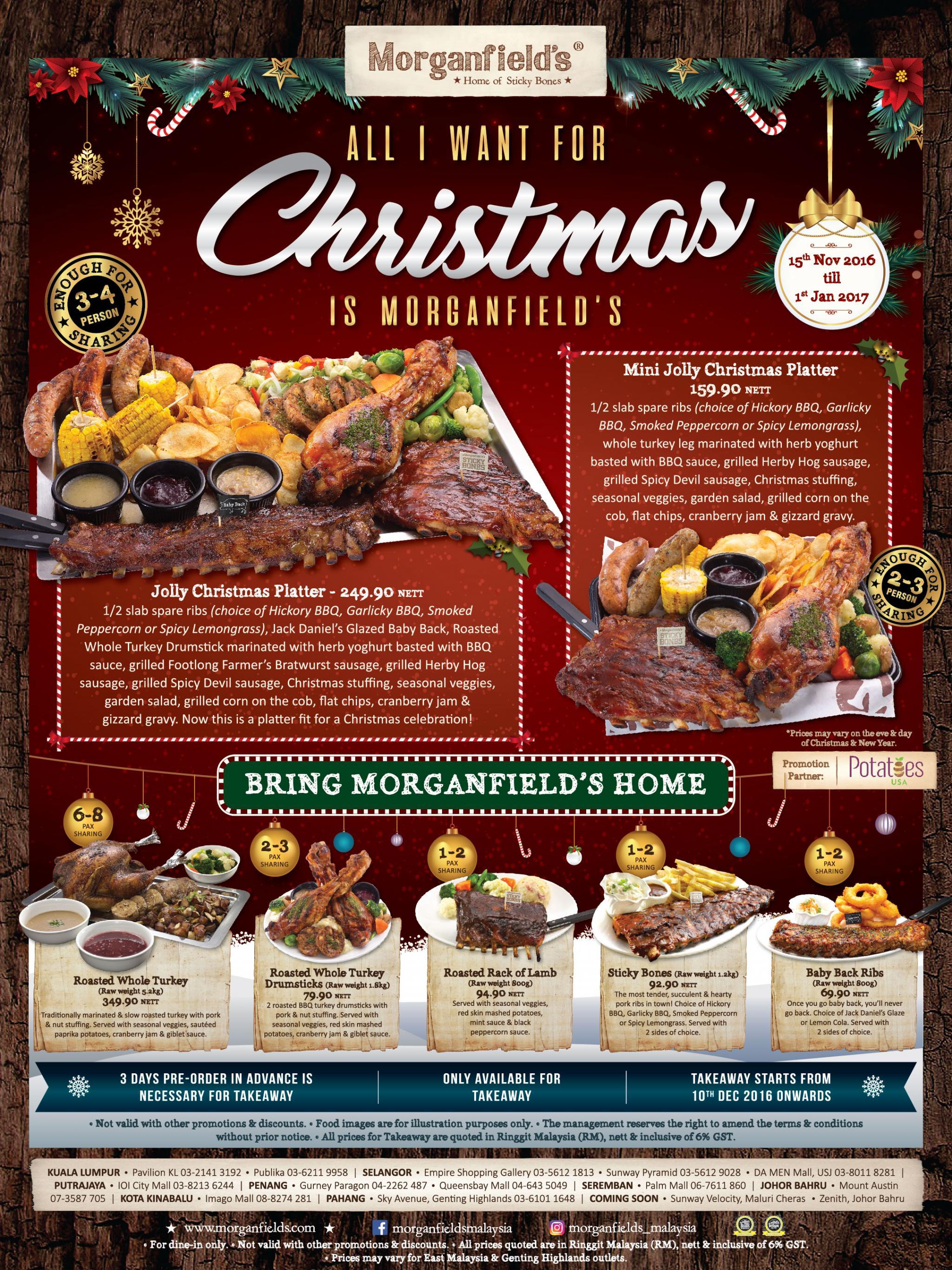 Tesco malaysia christmas promotional giveaways