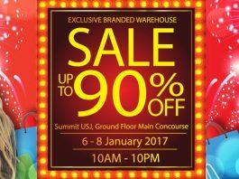 Branded Warehouse Sale 2017