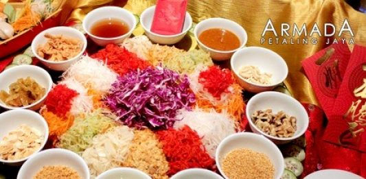 Chinese New Year Buffet Dinner promotion at Utara Coffee House