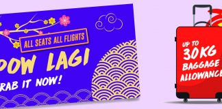 Malindo Air Promotion 2017 on Chinese New Year 2017 Air Ticket Deals