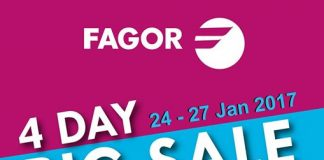 Fagor Home Appliances promotion 2017