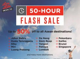 Budget Airline Airasia 50-Hour Flash Sale 2017