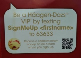 Haagen Dazs Malaysia FREE Ice Cream Scoop