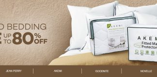 Lazada Branded Bedding Sale 2017