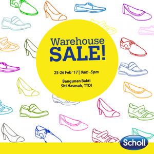 Scholl Warehouse Sale 2017