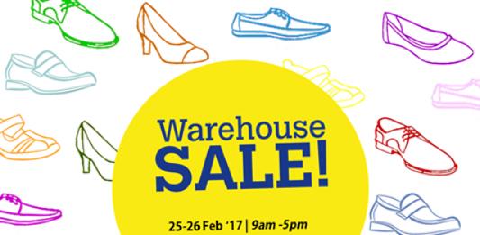 Scholl Warehouse Sale 2017