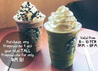 Starbucks Malaysia Promotion February 2017