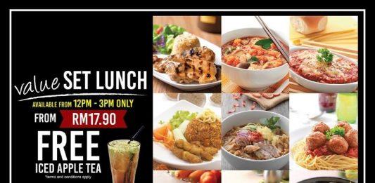 Secret Recipe value set lunch 2017