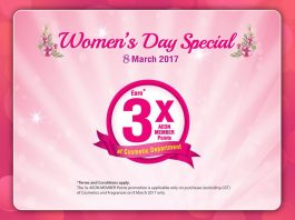 AEON Women's Day 2017 Promotion