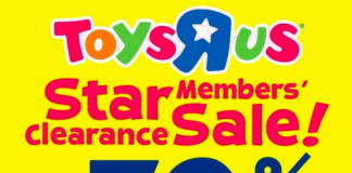 Toys R Us Clearance Sale 2017