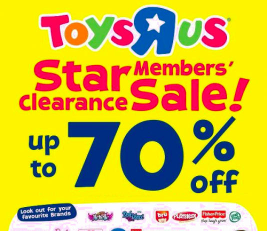 Toys R Us Clearance Sale 2017