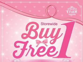 Etude House Promotion April 2017 Buy 1 Free 1