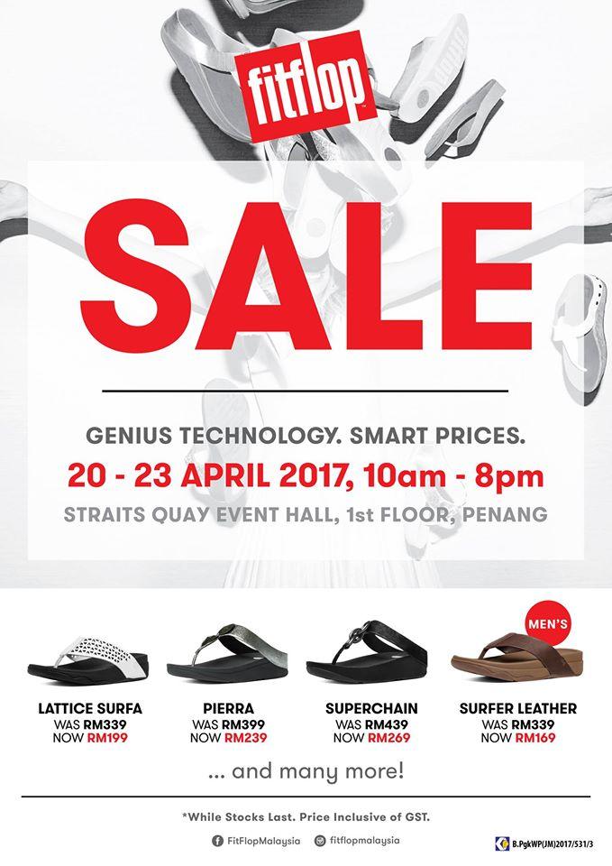 Fitflop Sale Penang April 2017