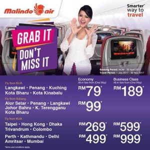 Malindo Air Promotion April 2017
