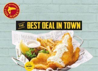 The Manhattan FISH MARKET Promotion April 2017