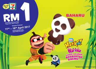 Mat Kool Panda Ice Cream Promotion April 2017 for only RM 1