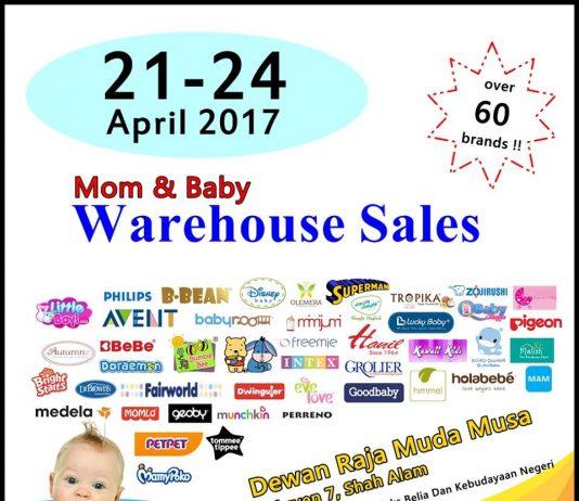 Mom & Baby Warehouse Sales April 2017
