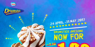Nestle Drumstick Ice Cream promotion 2017