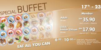 Sushi King Buffet Promotion April 2017