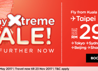 AirAsia Flight promotion 7 Day Xtreme SALE