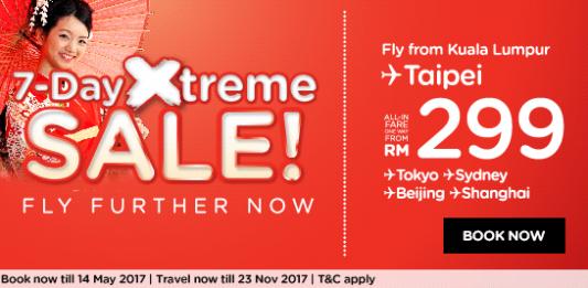 AirAsia Flight promotion 7 Day Xtreme SALE