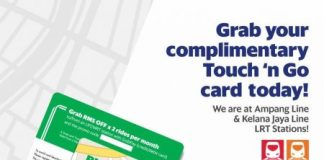 Free GRAB Touch n' Go Card Giveaway May 2017