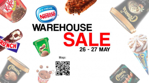 Nestlé Ice Cream Warehouse Sale May 2017