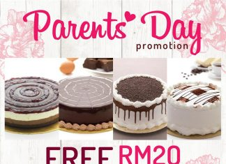 Free Secret Recipe Voucher Mother's Day Promotion 2017