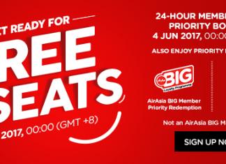Airasia Free Seat