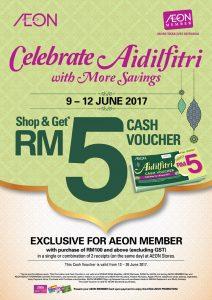 Free Aeon Cash Voucher
