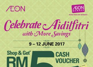Free Aeon Cash Voucher