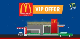 McDonald's Malaysia McD Drive-Thru Freebies July 2017