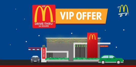 McDonald's Malaysia McD Drive-Thru Freebies July 2017