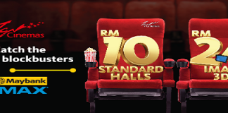 TGV Cinema Buy 1 Free 1 Movie Ticket Promotion August 2017 By MapbankPay Maybank Credit Card member