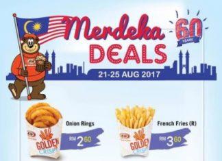 A&W Malaysia Merdeka Promotion 2017