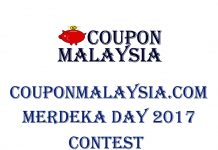 CouponMalaysia Merdeka Day 2017 Contest