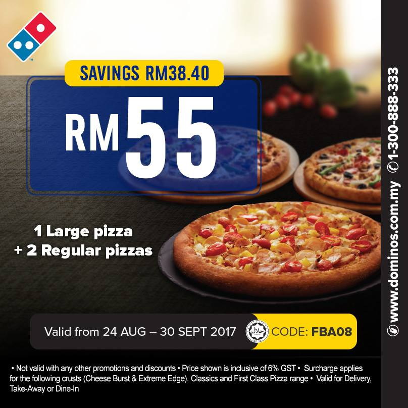 Dominos online coupons malaysia