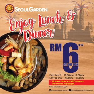 Seoul Garden Promotion 2017 Merdeka Day Deals