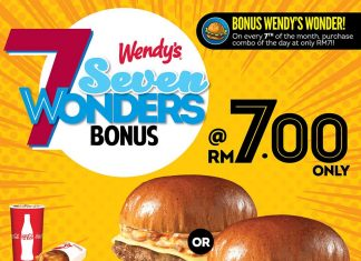 Wendy Malaysia Promotion August 2017
