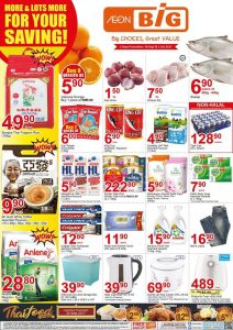 AEON BIG Malaysia End Month Promotion