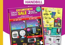 AEON Malaysia Promotion 2017 Great Friday Sale