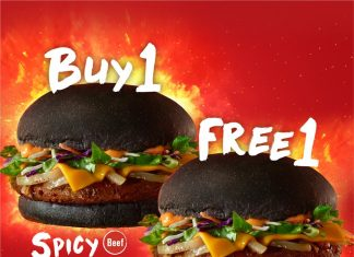 McDonald's Malaysia Promotion September 2017 Spicy Korean Burger Buy 1 Free 1 Deal