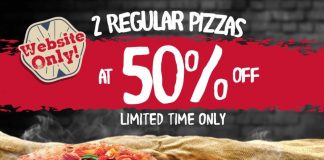 Pizza Hut Malaysia Promotion 2017 50% Discounts Deal