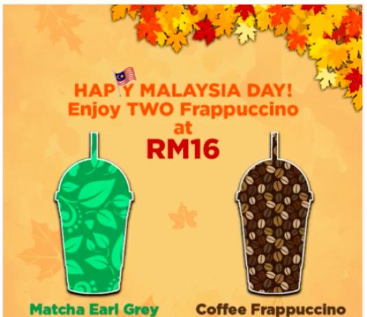 Starbucks Malaysia Promotion 2017 Malaysia Day Deals